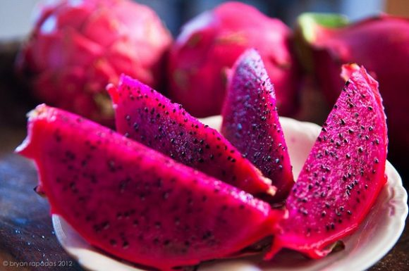 Red dragon fruit, very unique and delicious