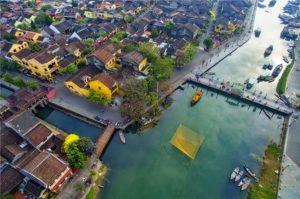 Hoi An Vietnam Old Quarter Top View