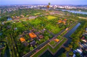 hue citadel imperal city top view