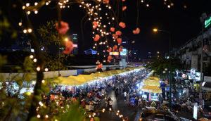 ben thanh night market saigon nightlife