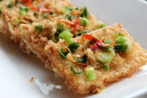 com chay Vietnamese crispy rice crackers