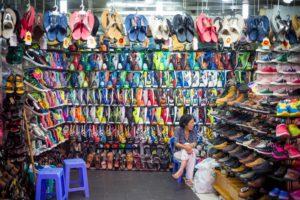 shoe shop street hanoi shoe shopping