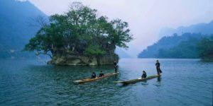 ba be lake national park vietnam