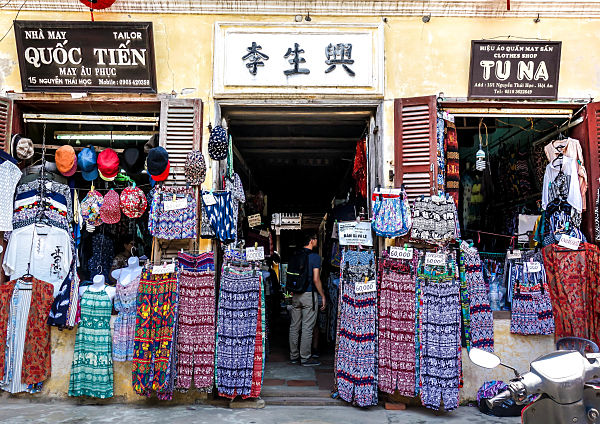 cheap clothes vietnam hoi an shopping