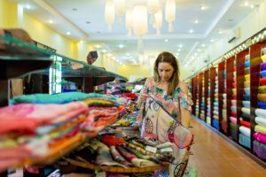 hoi an silk village vietnam clothes shopping