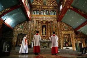 phat diem cathedral ninh binh vietnam