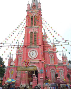 tan dinh ho chi minh saigon church in vietnam