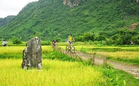Trekking and cycling are most common activities in Pu Luong
