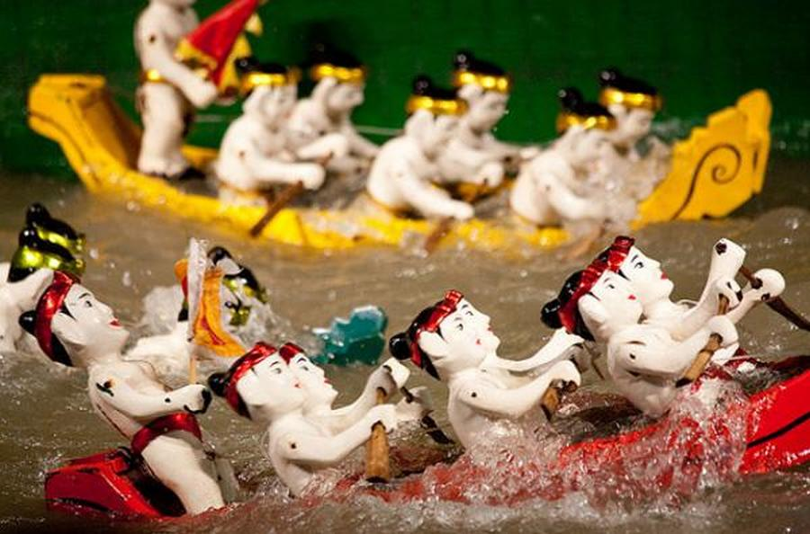 Water Puppet Show - an unique cultural experience