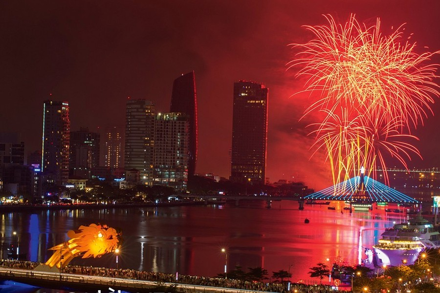The annual Da Nang International Firework Festival