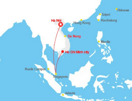 Tour to Vietnam from Singapore